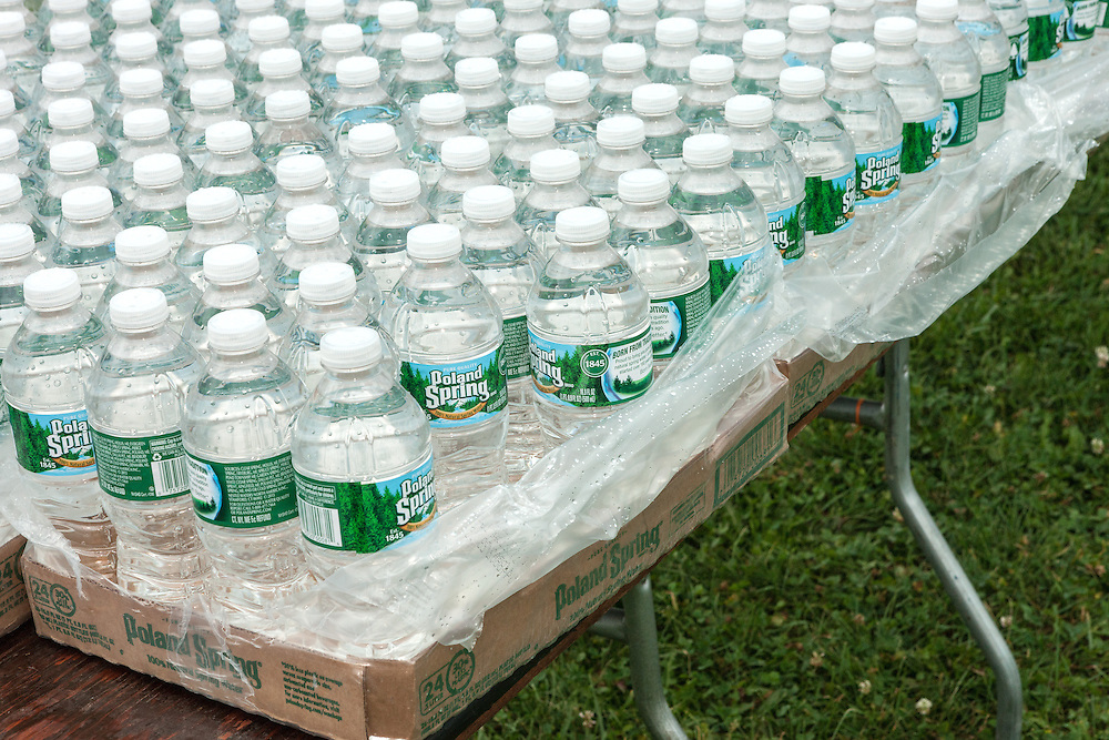 Beach to Beacon 10K road race: Poland Springs water