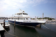 UNITED STATES-CAPE COD-Boat for whalewatching. PHOTO: GERRIT DE HEUS.VS-CAPE COD-PROVINCETOWN-Boot. PHOTO COPYRIGHT GERRIT DE HEUS