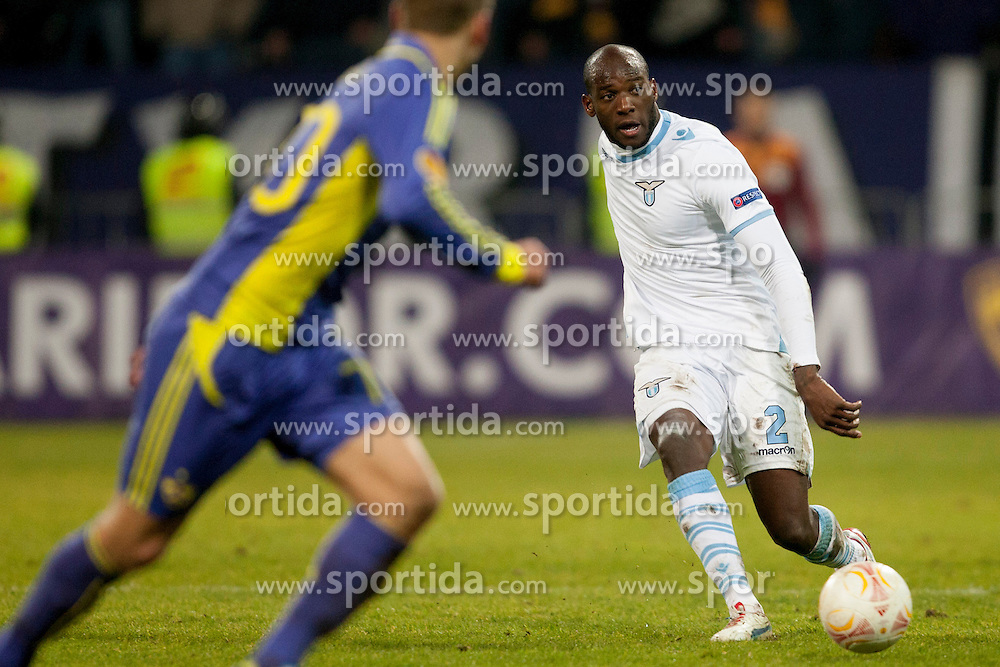 Michael Ciani #2 of S.S. Lazio during football match between NK Maribor and S. S. Lazio Roma  (ITA) in 6th Round of Group Stage of UEFA Europa league 2013, on December 6, 2012 in Stadium Ljudski vrt, Maribor, Slovenia. (photo by Urban Urbanc / Sportida.com)