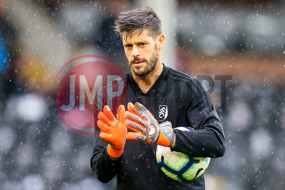 Fabricio of Fulham - Mandatory by-line: Robbie Stephenson/JMP - 26/08/2018 - FOOTBALL - Craven Cottage - Fulham, England - Fulham v Burnley - Premier League