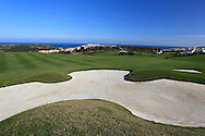 The 18th hole at Finca Cortesin, Casares, Spain 18th May 2012 (Photo Eoin Clarke/www.golffile.ie)