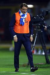 """Foto Filippo Rubin<br /> 04/04/2017 Ferrara (Italia)<br /> Sport Calcio<br /> Spal vs Novara - Campionato di calcio Serie B ConTe.it 2016/2017 - Stadio """"Paolo Mazza""""<br /> Nella foto: LEONARDO SEMPLICI<br /> <br /> Photo Filippo Rubin<br /> Apirl 04, 2017 Ferrara (Italy)<br /> Sport Soccer<br /> Spal vs Novara - Italian Football Championship League B ConTe.it 2016/2017 - """"Paolo Mazza"""" Stadium <br /> In the pic: LEONARDO SEMPLICI"""