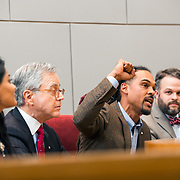 CHARLOTTE NC- A year after Braxton Winston found himself near the center of a grassroots protest movement after the CMPD shooting of Keith Lamont Scott, he was sworn in an at-large city council member.