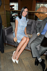 LINZI STOPPARD at the 3rd birthday party for Spectator Life magazine hosted by Andrew Neil and Olivia Cole held at the Belgraves Hotel, 20 Chesham Place, London on 31st March 2015.
