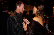 Tim Jefferies and Yasmin le Bon, Donna Karan Party to celebrate 20 Years  as a designer.  Showroom in New Bond St. 21 September 2004. DoSUPPLIED FOR ONE-TIME USE ONLY-DO NOT ARCHIVE. © Copyright Photograph by Dafydd Jones 66 Stockwell Park Rd. London SW9 0DA Tel 020 7733 0108 www.dafjones.com