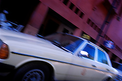 Grande Taxi, Marrakech, Morocco.