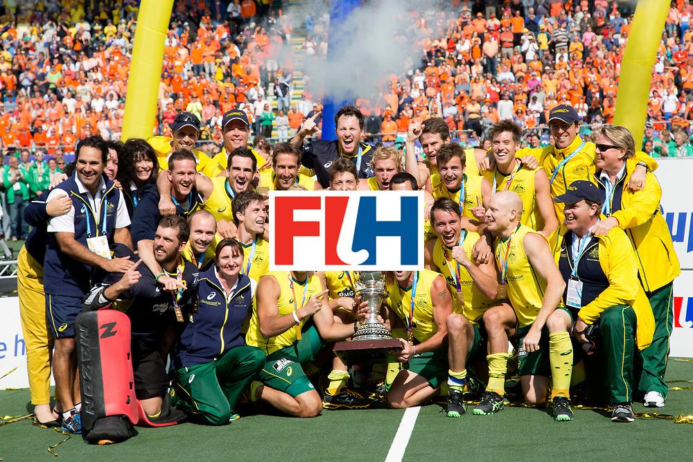 THE HAGUE - Rabobank Hockey World Cup 2014 - 15-06-2014 - MEN - FINAL AUSTRALIA - THE NETHERLANDS 6-1 -  <br /> Copyright: Willem Vernes