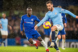 December 8, 2018 - London, Greater London, England - Ngolo Kanté of Chelsea during the Premier League match between Chelsea and Manchester City at Stamford Bridge, London, England on 8 December 2018. (Credit Image: © AFP7 via ZUMA Wire)