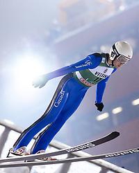 February 8, 2019 - Lahti, Finland - Mackenzie Boyd-Clowes competes during FIS Ski Jumping World Cup Large Hill Individual Qualification at Lahti Ski Games in Lahti, Finland on 8 February 2019. (Credit Image: © Antti Yrjonen/NurPhoto via ZUMA Press)