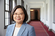 Interview with Taiwan's President Tsai Ing-wen at the Presidential Palace<br /> CREDIT: Craig Ferguson for The Wall Street Journal<br /> SLUG : TAIWAN Status