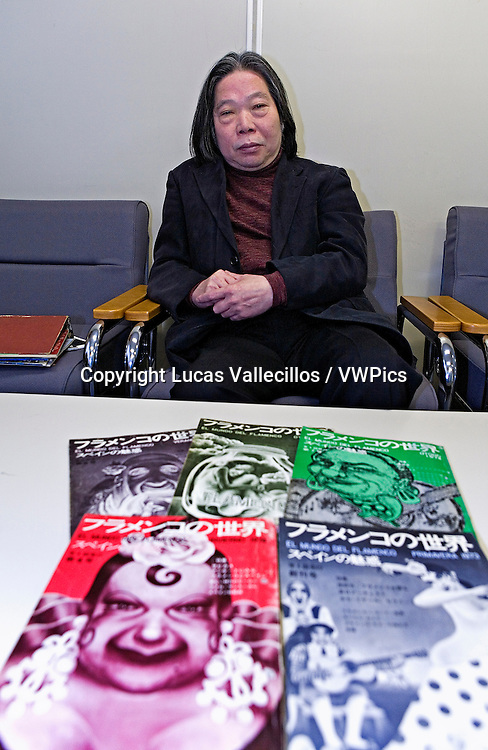 """el mundo del flamenco"" magacine & Teruo Kabaya. Edited by Teruo Kabaya in the decade of 1970.Tokyo, Japan"