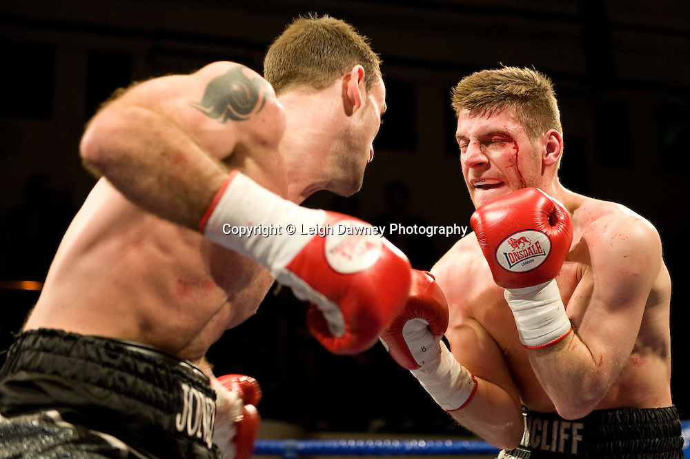 Ben Jones defeats James Ancliff at York Hall, Bethnal Green, London on the 12th February 2010 Matchroom Sport. Photo credit: © Leigh Dawney