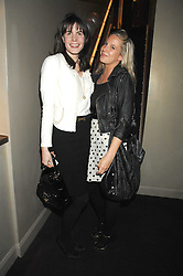 LADY LAURA CATHCART and ALICE DAWSON at a party to celebrate the 1st birthday of nightclub Kitts, 7-12 Sloane Square, London on 5th March 2008.<br /><br />NON EXCLUSIVE - WORLD RIGHTS