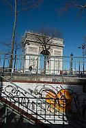 France Paris, Place de l'Arc de Triomphe