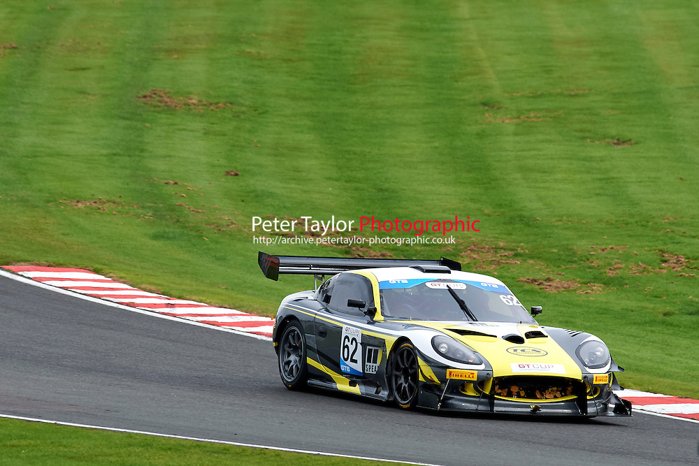 #62 John SAUNDERS Ginetta G50 during GT Cup - Race 1 as part of the MSVR Oulton Park 10th October 2015 at Oulton Park, Little Budworth, Cheshire, United Kingdom. October 10 2015. World Copyright Taylor/PSP. Copy of publication required for printed pictures.  Every used picture is fee-liable. http://archive.petertaylor-photographic.co.uk