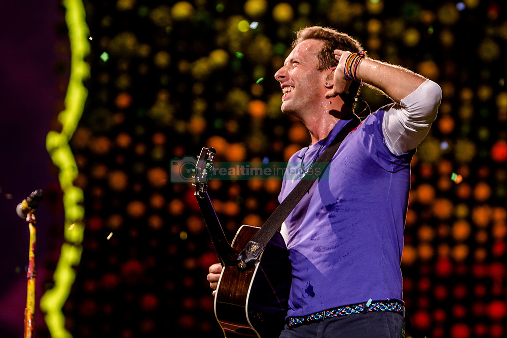 July 3, 2017 - Milan, Italy - Coldplay live at San Siro Stadium in Milano. (Credit Image: © Mairo Cinquetti/Pacific Press via ZUMA Wire)