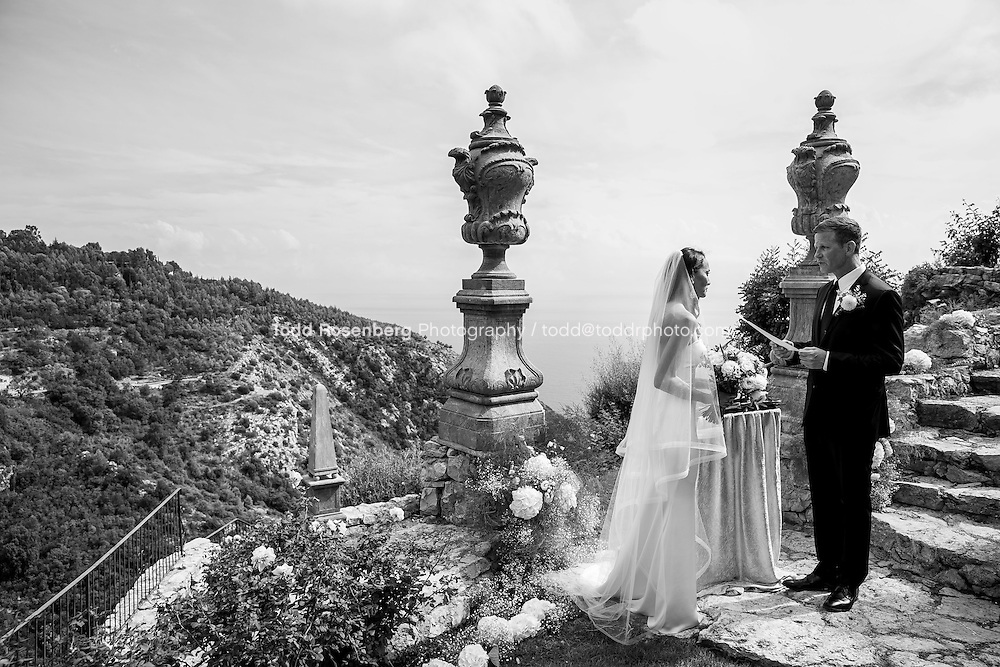 9/16/15 7:53:06 AM -- Eze, Cote Azure, France<br /> <br /> The Wedding of Ruby Carr and Ken Fitzgerald in Eze France at the Chateau de la Chevre d'Or. <br /> . &copy; Todd Rosenberg Photography 2015