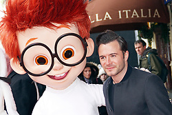 © Licensed to London News Pictures. 01/02/2014, UK. Shane Filan, Mr Peabody & Sherman 3D - VIP Gala Screening, VUE Leicester Square, London UK, 01 February 2014. Photo credit : Brett D. Cove/Piqtured/LNP