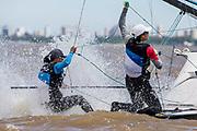 2015 49er Worlds - San Isidro, Argentine.<br />  &copy; Matias Capizzano