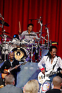 Earth, Wind & Fire performs at the Fraze Pavilion in Kettering, Monday, June 20, 2011.   EW&F are on their 40th anniversary tour and the Fraze is celebrating its 20th anniversary season.