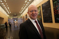 UK ENGLAND LONDON 21APR16 - Deutsche Bank CEO John Cryan poses for a portrait at the company's UK  headquarters in the City of London.<br /> <br /> jre/Photo by Jiri Rezac<br /> <br /> © Jiri Rezac 2016