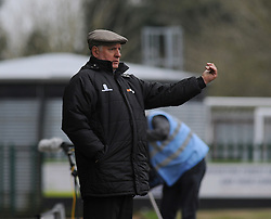 Braintree Town Manager, Alan Devonshire - Photo mandatory by-line: Nizaam Jones - Mobile: 07966 386802 - 14/03/2015 - SPORT - Football - Nailsworth - The New Lawn - Forest Green Rovers v Braintree  - Vanarama Football Conference.