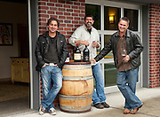 Woodinville Washington wine gang:  Chris Gorman, Chris Sparkman, Mark Ryan