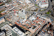 aerial photograph of Birmingham Childrens Hospital UK