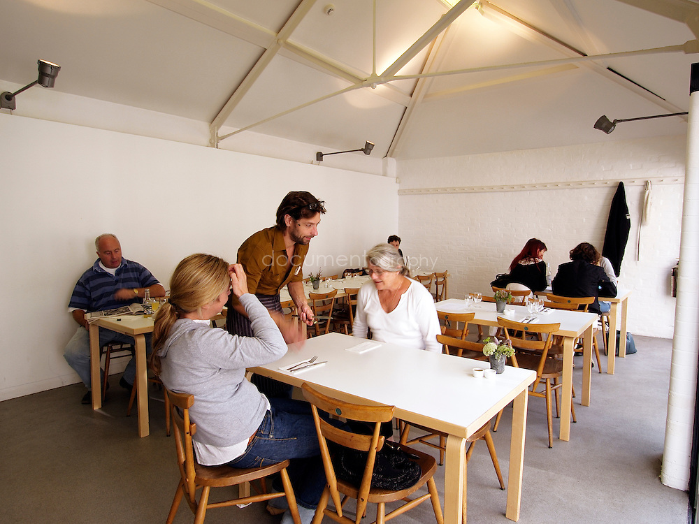 La Rochelle Canteen at lunch time, London