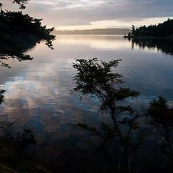 Prevost Harbor, Stuart Island, San Juan Islands, Washington, US