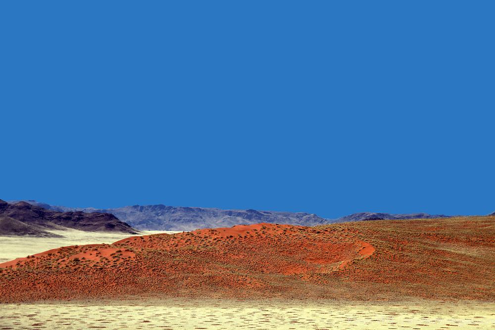 Africa, Namibia, Sossusvlei. The Namib Rand at Sossusvlei.