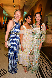 Astrid Harbord, Jackie St.Clair and Yana Max at the V&A Summer Party 2017 held at the Victoria & Albert Museum, London England. 21 June 2017.