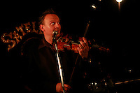 Dragan, balkan band..-photograph © Owen Franken..