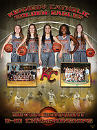 Kennedy Catholic Girls Basketball District 10 Championship Poster
