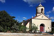 Church in San Diego de los Banos, Pinar del Rio, Cuba.