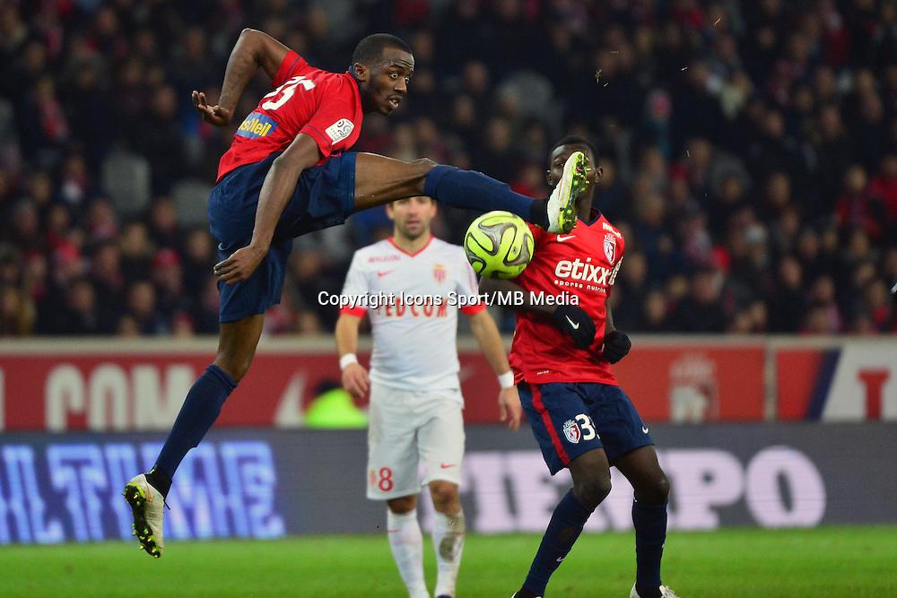 Kevin KOUBEMBA  - 24.01.2015 - Lille / Monaco - 22eme journee de Ligue1<br />Photo : Dave Winter / Icon Sport
