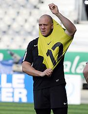 Dunedin-Rugby, RWC, England Captains Run