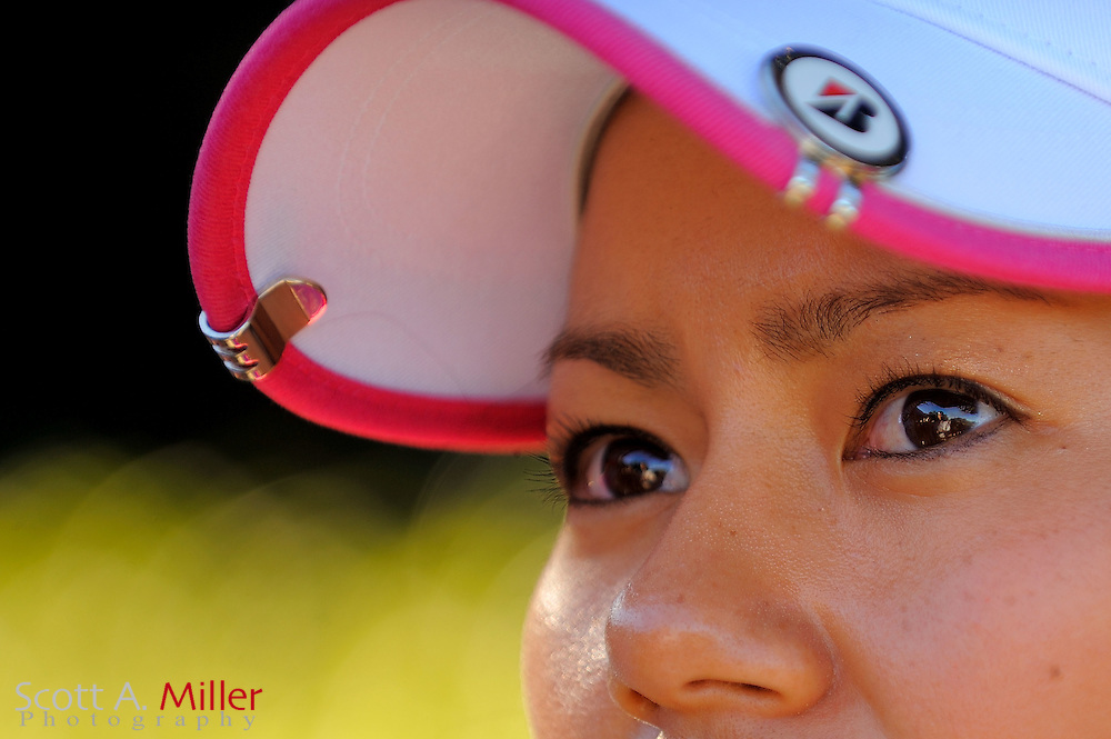 Ai Miyazato of Japan prior to the start of the LPGA Tour Championship at the Grand Cypress Resort on December 1, 2010 in Orlando, Florida.  .. ©2010 Scott A. Miller