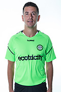 Forest Green Rovers Lloyd James during the 2018/19 official team photocall for Forest Green Rovers at the New Lawn, Forest Green, United Kingdom on 30 July 2018. Picture by Shane Healey.