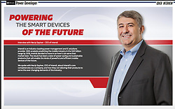 Published  Interview spread of Intersil CEO in EEE Web, Power Developer Magazine.