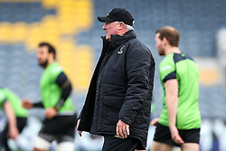 Worcester Warriors Director of Rugby Gary Gold looks on as Worcester's First Team train on the pitch before the Academy Finals get underway - Rogan Thomson/JMP - 16/02/2017 - RUGBY UNION - Sixways Stadium - Worcester, England - Worcester Warriors U18 v Saracens U18 - Premiership Rugby Under 18 Academy Finals Day 5th Place Play-Off.