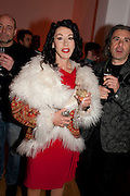 HELEN DAVID, TODÕS Art Plus Drama Party 2011. Whitechapel GalleryÕs annual fundraising party in partnership with TODÕS and supported by HarperÕs Bazaar. Whitechapel Gallery. London. 24 March 2011.  -DO NOT ARCHIVE-© Copyright Photograph by Dafydd Jones. 248 Clapham Rd. London SW9 0PZ. Tel 0207 820 0771. www.dafjones.com.<br /> HELEN DAVID, TOD'S Art Plus Drama Party 2011. Whitechapel Gallery's annual fundraising party in partnership with TOD'S and supported by Harper's Bazaar. Whitechapel Gallery. London. 24 March 2011.  -DO NOT ARCHIVE-© Copyright Photograph by Dafydd Jones. 248 Clapham Rd. London SW9 0PZ. Tel 0207 820 0771. www.dafjones.com.