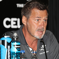 during The Cell C Sharks press conference and training session at Growthpoint Kings Park in Durban, South Africa. 16th March 2017(Photo by Steve Haag)<br /> <br /> images for social media must have consent from Steve Haag