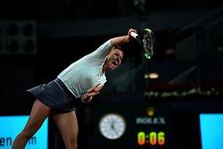 May 8, 2019 - Madrid, Spain - Simona Halep (BEL) in her match against Viktoria Kuzmova (SVK) during day four of the Mutua Madrid Open at La Caja Magica in Madrid on 8th May, 2019. (Credit Image: © Juan Carlos Lucas/NurPhoto via ZUMA Press)