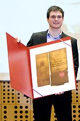 Peter Kauzer  at 45th Awards of Stanko Bloudek for sports achievements in Slovenia in year 2009, on February 9, 2010, Brdo pri Kranju, Slovenia.  (Photo by Vid Ponikvar / Sportida)