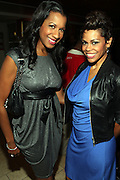 16 October 2010-New York, NY-  l to r: Dr. Michelle and April Woodard, BET Personality at The Black Girls Rock! Shot Caller's Reception Presented by Beverly Bond and BET held at Fred's at Barneys New York on October 15, 2010 in New York City. ..BLACK GIRLS ROCK! Inc. is 501(c)3 non-profit youth empowerment and mentoring organization established to promote the arts for young women of color, as well as to encourage dialogue and analysis of the ways women of color are portrayed in the media. Photo Credit:.Terrence Jennings..