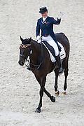 Claudia Fassaert - Donnerfee<br /> Alltech FEI World Equestrian Games™ 2014 - Normandy, France.<br /> © DigiShots