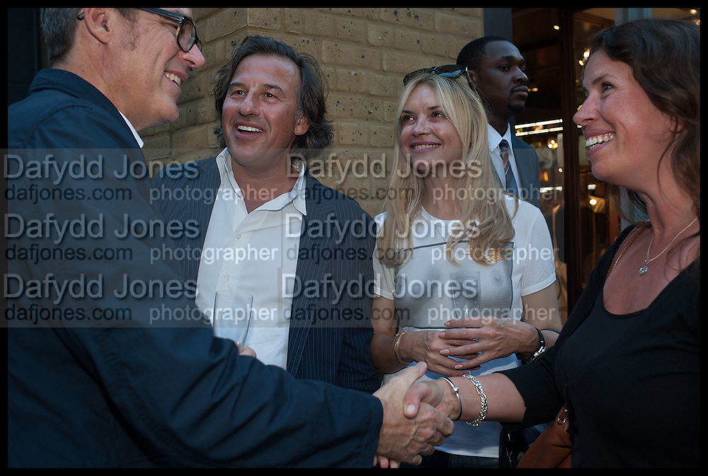 STEVE ORMANDY; ANDY AHRRIS; ; KATIE MILLARD; EMMA KAMAN, Dinosaur Designs launch of their first European store in London. 35 Gt. Windmill St. 18 September 2014