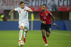 March 21, 2019 - Vienna, Austria - Bartosz Bereszynski of Poland duels with Valentino Lazaro of Austria during the UEFA European Qualifiers 2020 match between Austria and Poland at Ernst Happel Stadium in Vienna, Austria on March 21, 2019  (Credit Image: © Andrew Surma/NurPhoto via ZUMA Press)