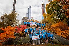 20181103 USA: NYC Marathon We Run 2 Change Diabetes day 2, New York